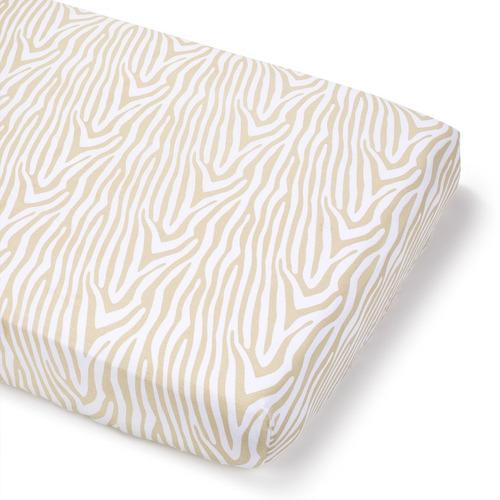 summer sábana beige zebra 1 unidad - barulu