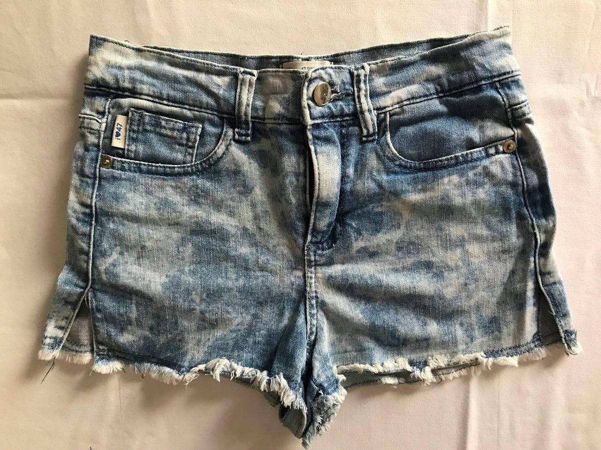 f464c541c Summer Sale! Como Quieres. Short Jean Nevado Celeste. T 24 - $ 300,00