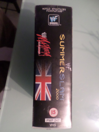 summer slam 2000 limited edition vhs double pack vintage