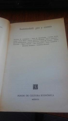 summerhill: pro y contra - nathan w. ackerman