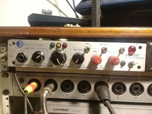 summit audio 2ba-221 pre valvular