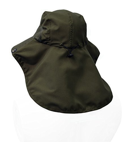 sun blocker sombrero unisex de la aleta del cuello sombrero