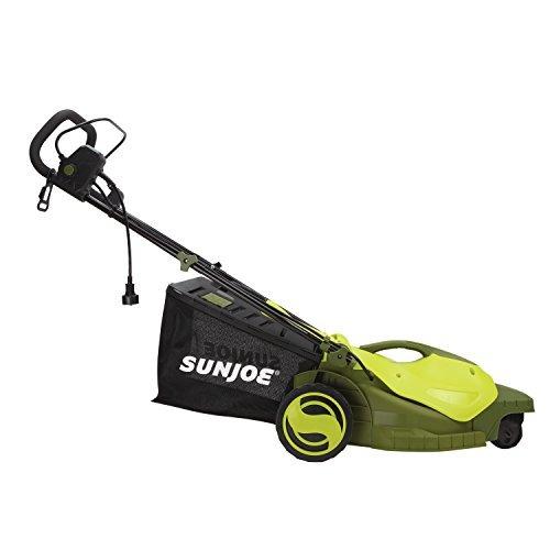 sun joe mj404e-360 eléctrico cortadora de césped | 3 rueda