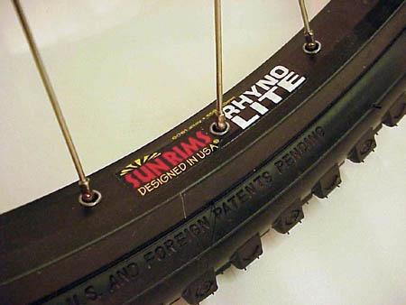 sun rhyno lite formula disc wtb llantas/rines 26  bicicleta