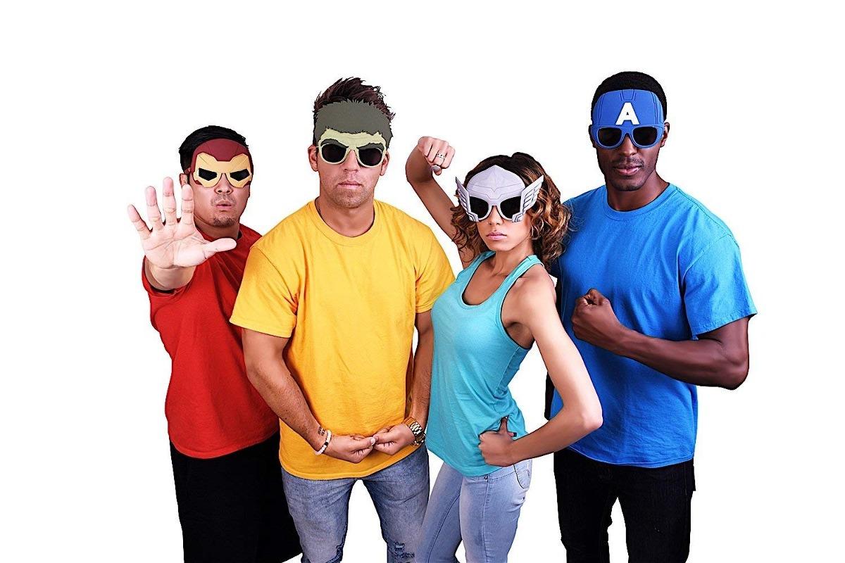 0096290cee Sun Staches Marvel Avengers Thor Character Sunglasses Par... -   23.777 en  Mercado Libre
