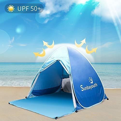 huge selection of ed012 4c12d Sunba Youth Beach Tent, Sombra De Playa, Carpa Anti Uv Baby