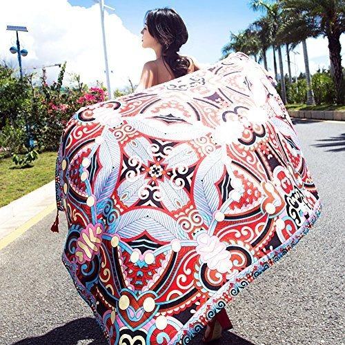 sunbaby toalla de playa para mujer estilo bohemio rectangula