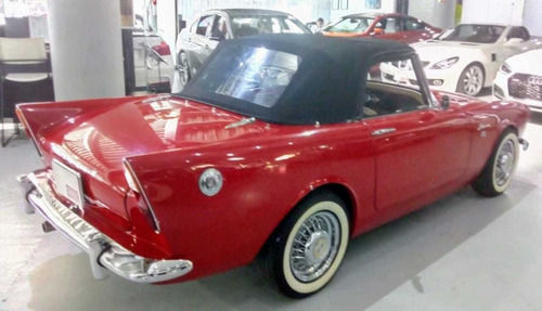 sunbeam alpina convertible 1961