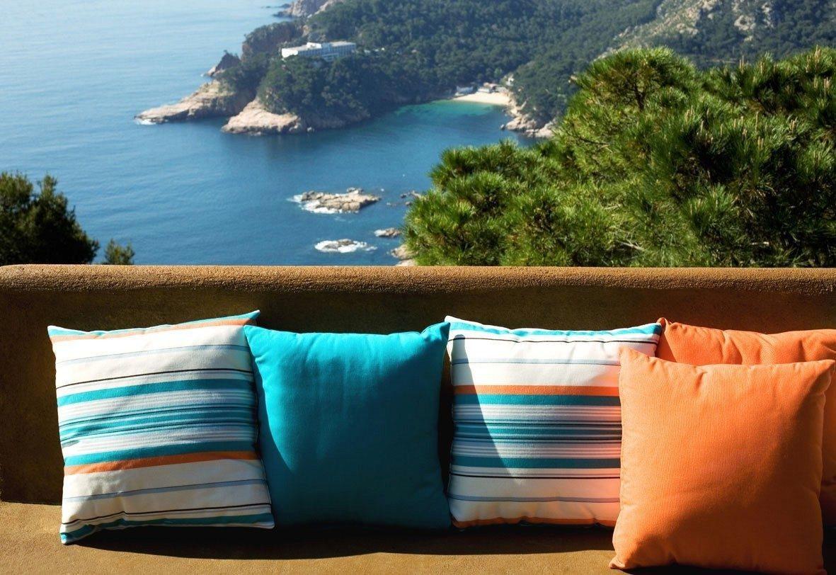 Sunbrella tela para exterior uso sombrillas tapiceria for Telas de exterior