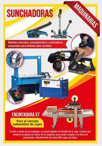 sunchadora flejadora máquina semiautomática 306 oferta!!