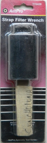 suncho filtro de aceite con cinta de nylon. el mas efectivo