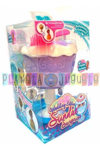 sundae surprise muñeca perfumada cupcake novia en planeta !