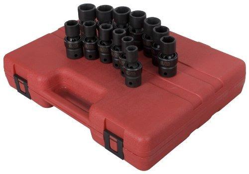 sunex 2665 1/2-inch drive métrico conjunto de zócalo de impa