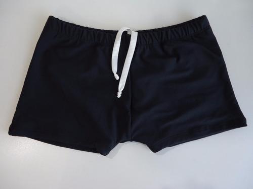 sunga boxer adulto  calção para banho tecido especial praia