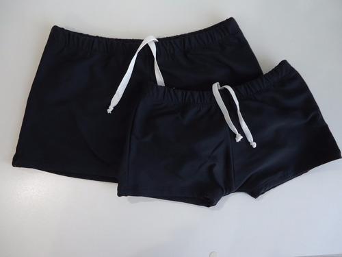 sunga boxer infantil  ou juvenil sunga para banho kit com 2