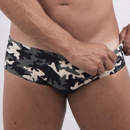 sunga nano boxer camuflada exercito exxe wear