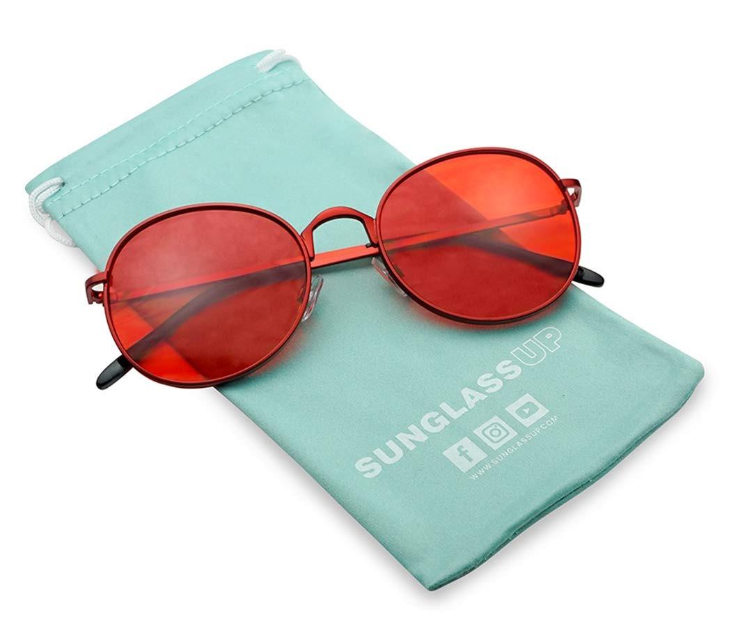 858 Planas Sunglassup Estilo De Vintage48 Gafas Sol Lennon 76gYbfy