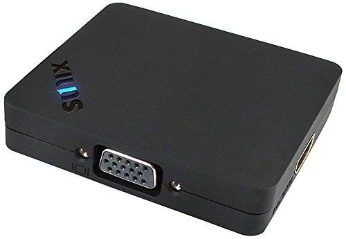 sunix it displayport mst hub con cable minidp-dp 10cm, negr