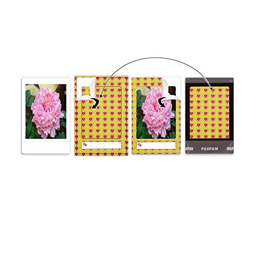 sunmns 120 hojas foto colorida pegatina de películas