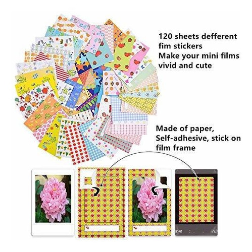 sunmns kit para camara fujifilm instax mini 9 incluye