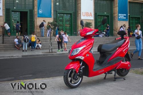sunra centro scooter eléctrica   hawk 100 km de autonomia /d