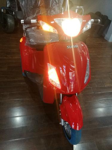 sunra shino triciclo scooter 0 km 3 ruedas ahora 18x 14413 a