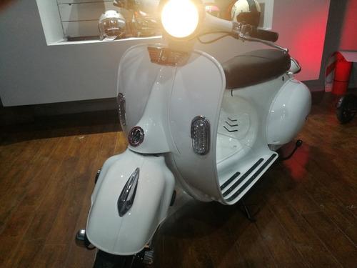 sunra vespa vintage retro 3000w 12ah gel 0 km 2020 scooter