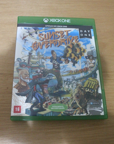 sunset overdrive xbox one midia fisica