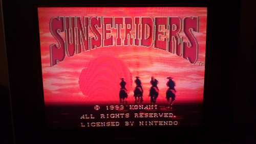 sunset riders repro snes