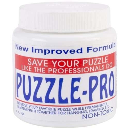 sunsout puzzle preserver glue!