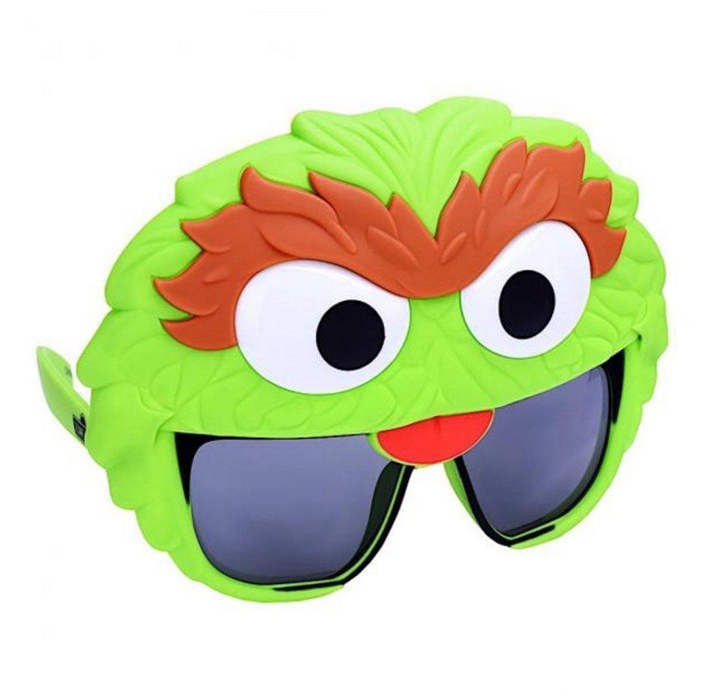 Sunstaches Sesame Street Oscar The Grouch Sunglasses Part