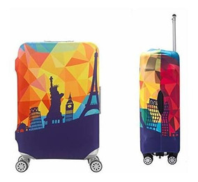 f7a6ff1a80c8 Suntrade 3d Travel Luggage Protector Cubierta Del Maletin, 1