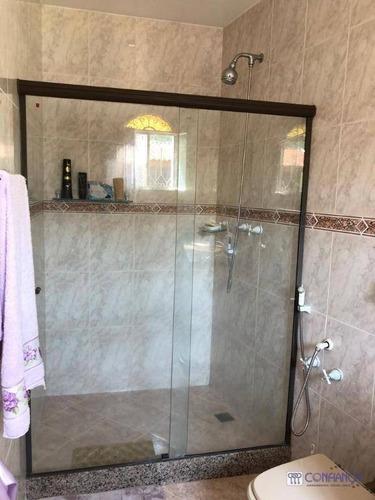 suntuosa residencia, 04 quartos,melhor condomínio do valqueire - ca1526