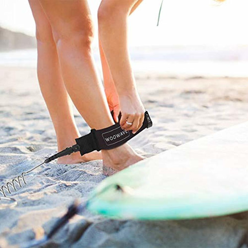sup leash  pies en espiral stand up paddle board tabla ...