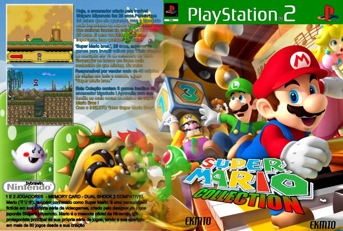 Mario Games For Ps3 : Supe mario collections playstation paty games r
