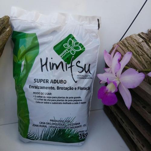 super adubo para orquideas himitsu original + brinde