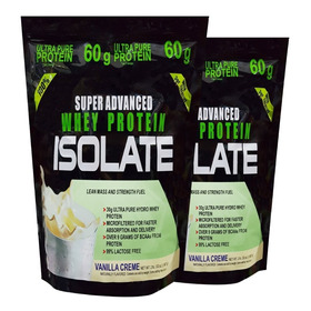 Super Advance Whey Protein Isolate 4lb - L a $24725
