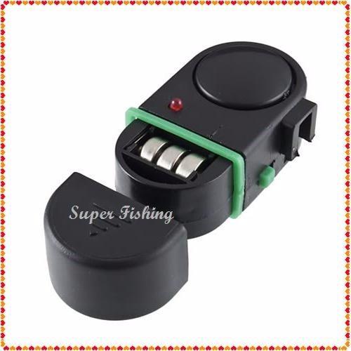 super alarme eletrônico com led p/ vara ( baterias inclusas)