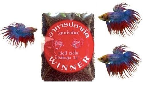 super alimento para peces tropicales larvas de  mosquitos