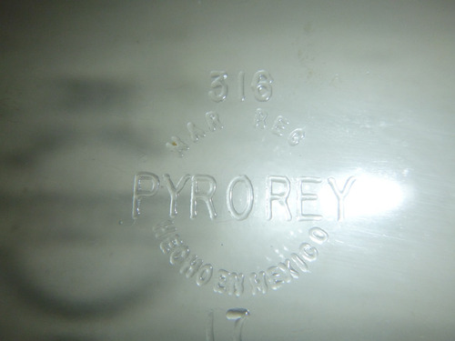 super bandeja de vidrio templado ovalada pyrex