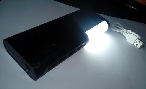 super bateria 20mil +linterna+ detector billete cambio x cel