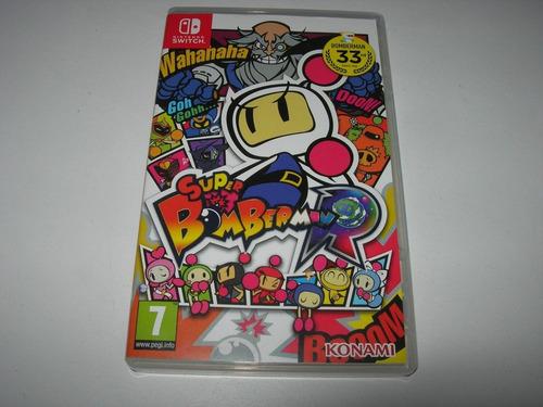 super bomberman r - nintendo switch (1 semana de uso)
