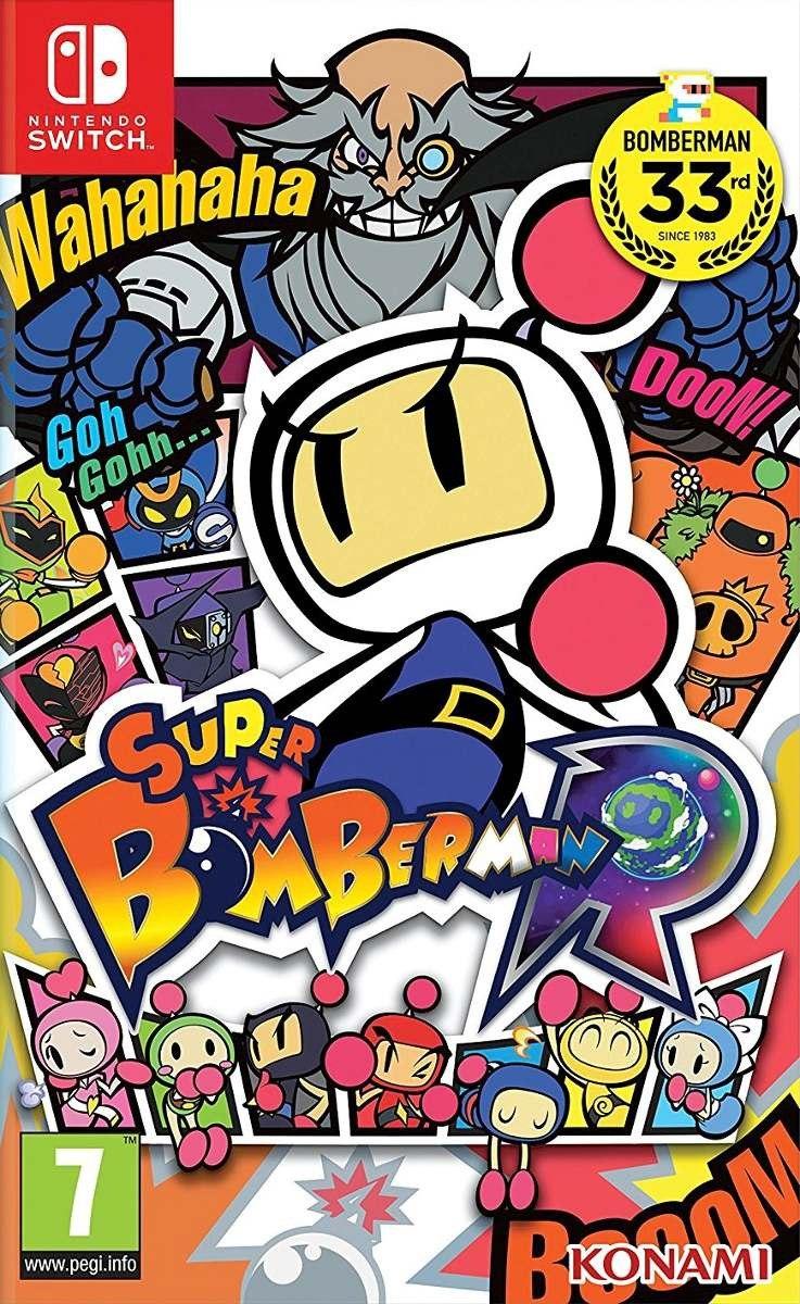 Resultado de imagem para Super Bomberman R switch