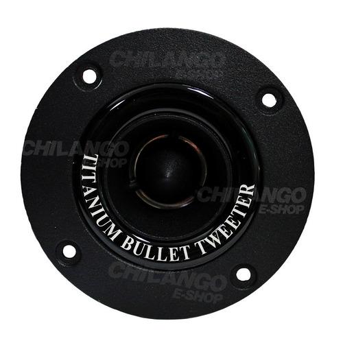super bullet tweeter bala titanium profesional 400w negro