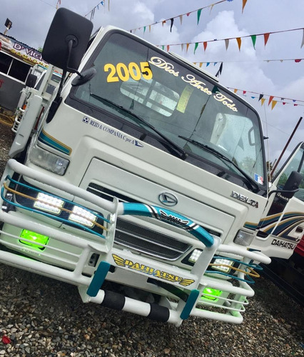 super camion daihatsu delta cama corta 2005 full oferta