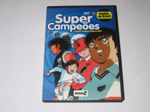 super campeões - vol.2 - road to 2002 - anime news 3 - dvd