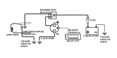 super capacitor condensador boss car audio 3.5 faradios