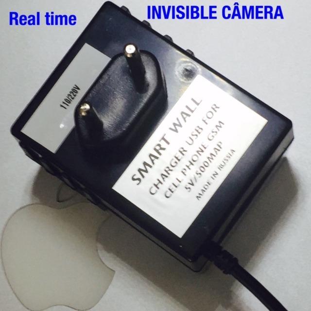 Super Carregador De Parede Espiao Ip Camera Real Time Spy -5969