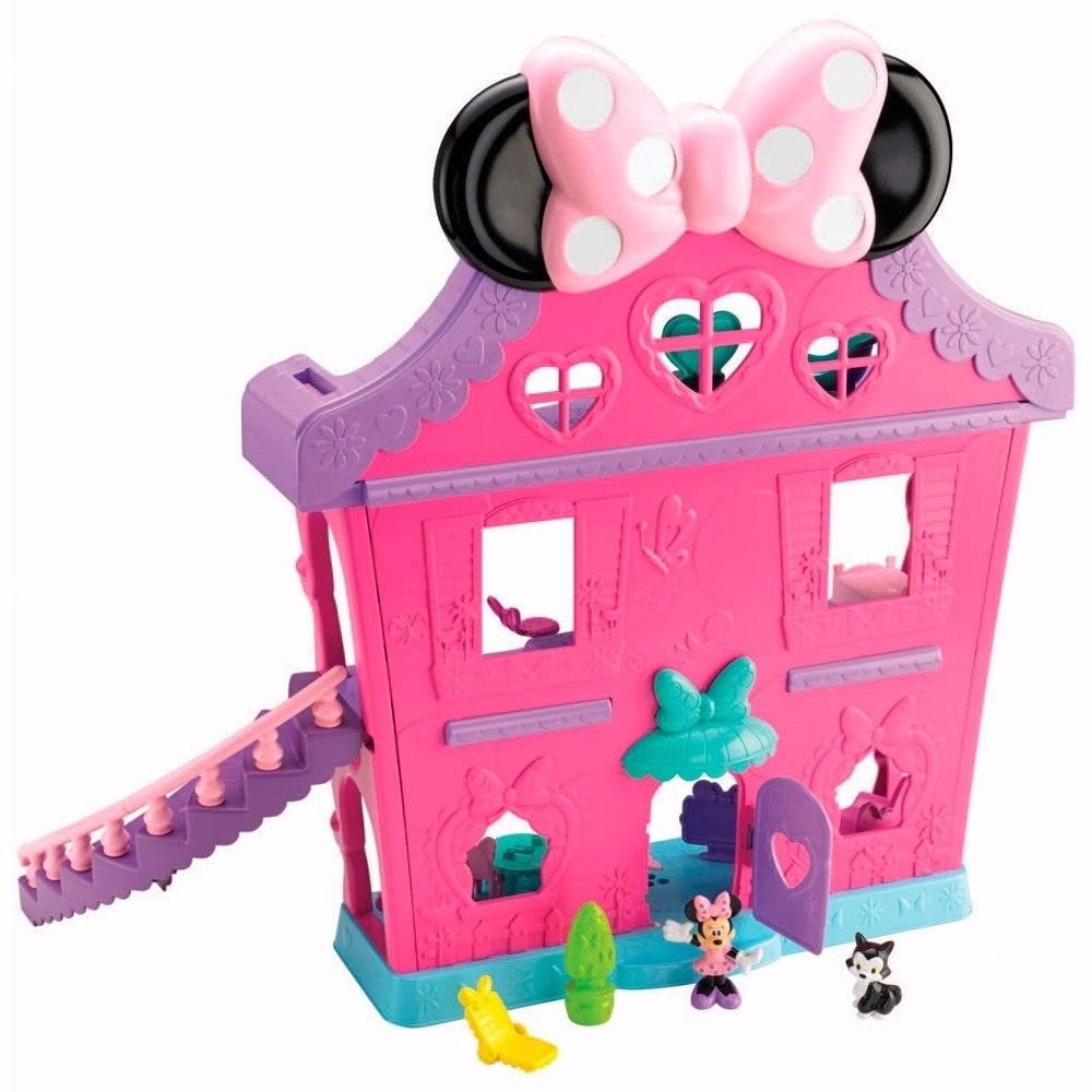 Super Casa Da Minnie Mouse Disney Bdh01 - Fisher-price - R$ 219,99 ...