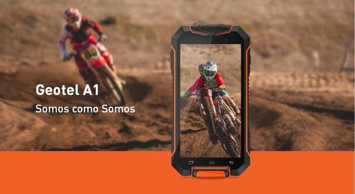 super celular geotel a1 de uso 100% rudo con android 7.0